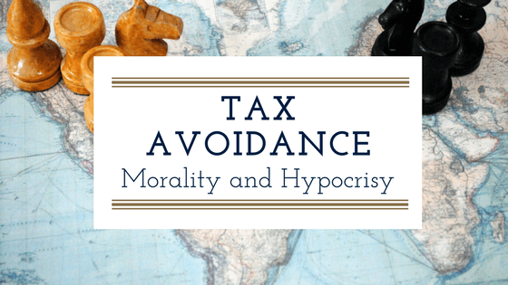Tax Avoidance. Morality and Hypocrisy.